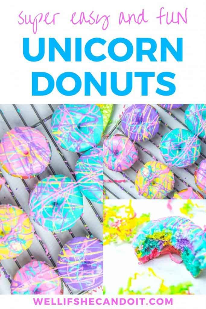 Super Easy and Fun Unicorn Donuts