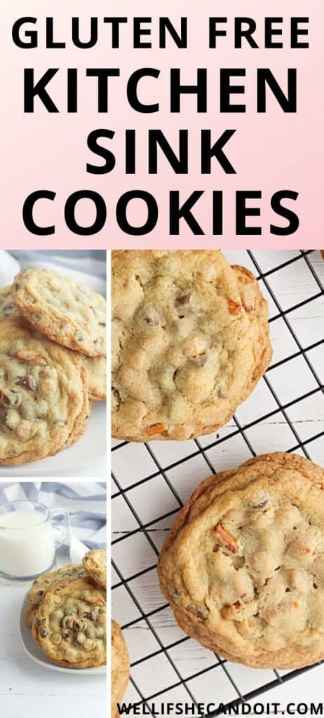 Gluten Free Kitchen Sink Cookies