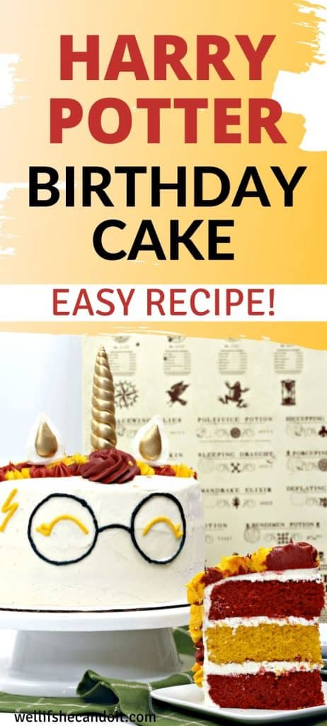 Harry Potter Birthday Cake Easy Recipe