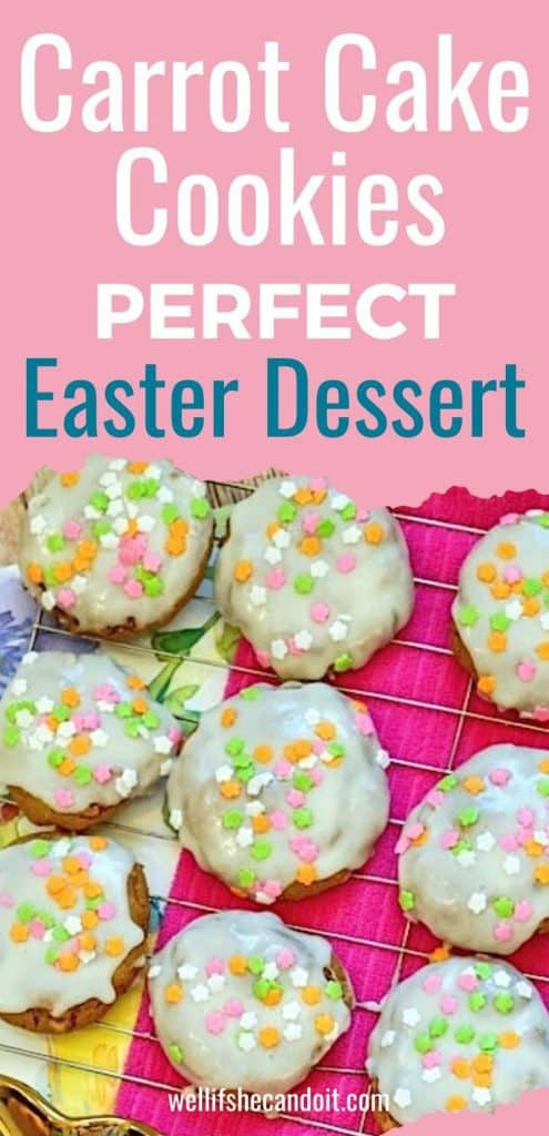 Carrot Cake Cookies Perfect Easter Dessert