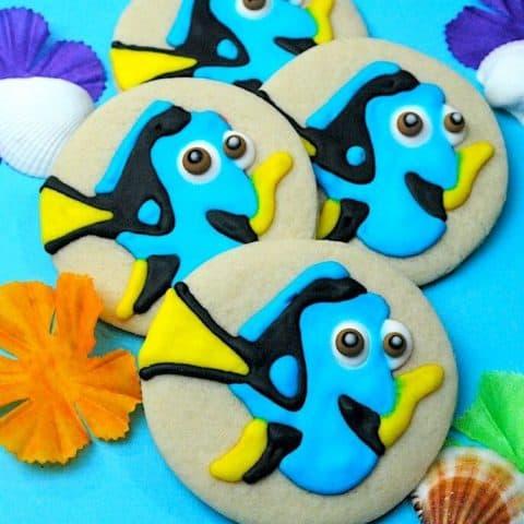Disney Dory Sugar Cookie Recipe