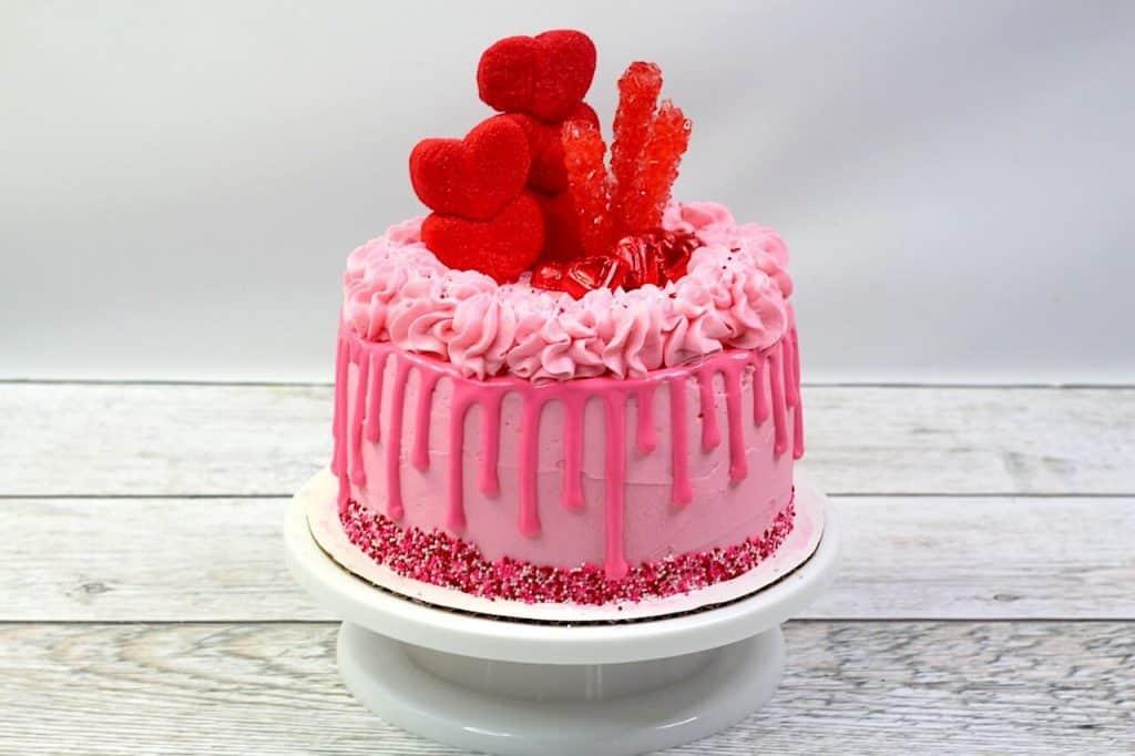 Heart Cake Recipe