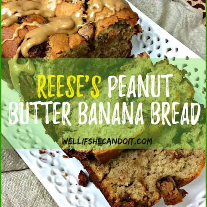 Peanut Butter Banana Bread Cake Recipe
