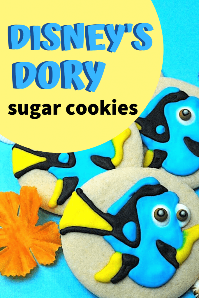 Disney's Dory Sugar Cookies