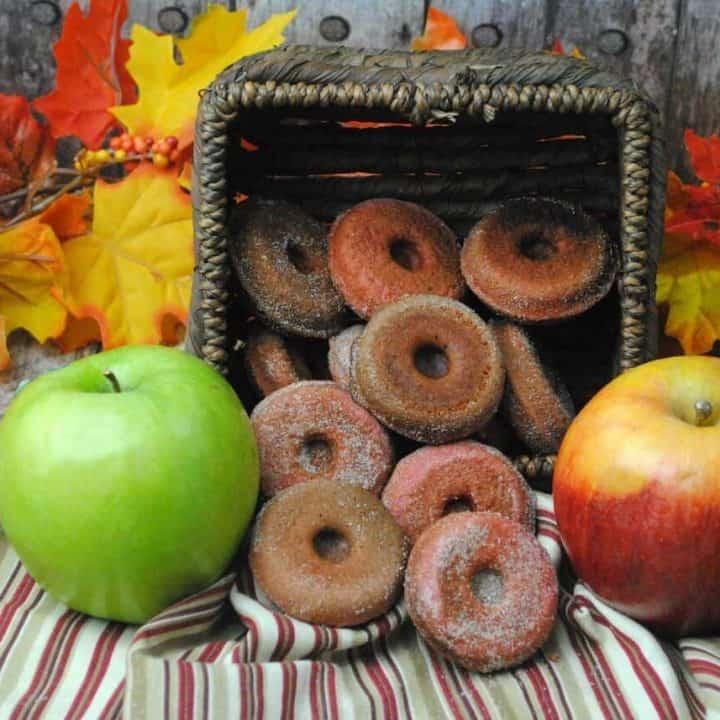 Gluten Free Apple Cider Donuts